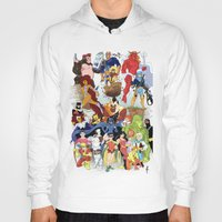 teen titans Hoodies featuring Teen Titans by poopsmoothie