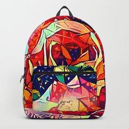 Jeweled Rose Backpack