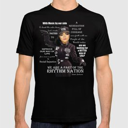 Ms Jackson RN inverse shirt T-shirt