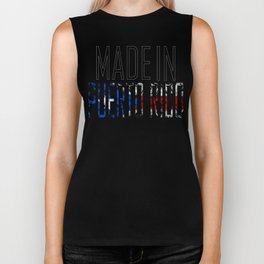 Made In Puerto Rico Biker Tank