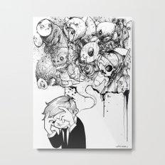 A Heavy Heart Metal Print