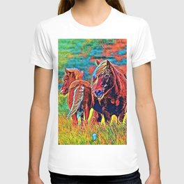 AnimalColor Horse 018 T-shirt