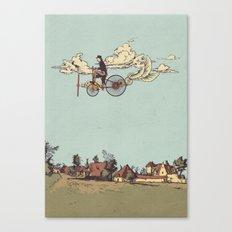 Steam FLY Canvas Print