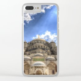 The Blue Mosque Istanbul Clear iPhone Case