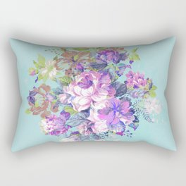 Deconstructed Floral Rectangular Pillow