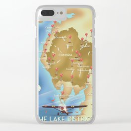 The Lake District England Clear iPhone Case