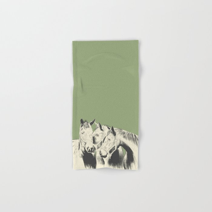 3 Horses Hand & Bath Towel