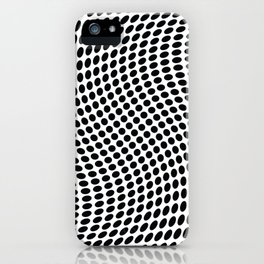 op art - dot twist iPhone Case