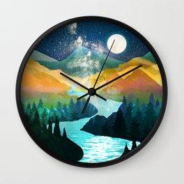 Under the Starlight Wall Clock