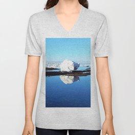 Baby Icebergs on the Tidal Shelf Unisex V-Neck