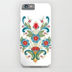 Nordic Rosemaling iPhone 6 Slim Case