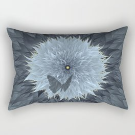 Blooming of life on the starry night. Rectangular Pillow
