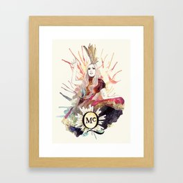Fashion Of His Love Framed Art Print