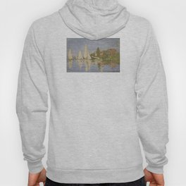 Claude Monet Regattas at Argenteuil Hoody