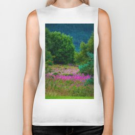 Scottish Heather Biker Tank