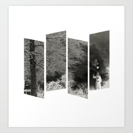 Coulrophobia Woods Art Print