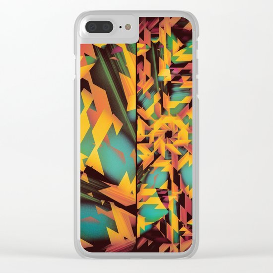 Delayed Impact Clear iPhone Case