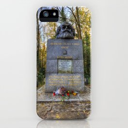Karl Marx Memorial iPhone Case