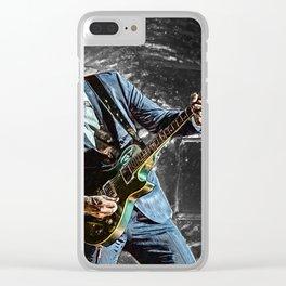 Joe Bonamassa Clear iPhone Case