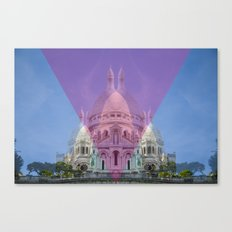the heart is sacred Canvas Print
