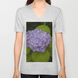 Floral Print 062 Unisex V-Neck