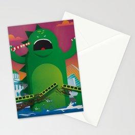 Godzilla in Dublin Stationery Cards