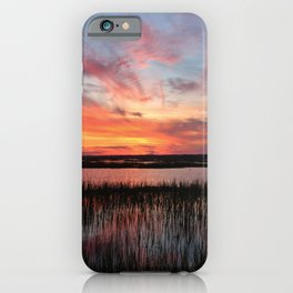 Sunset And Reflections 2 iPhone Case