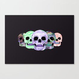 live love die Canvas Print