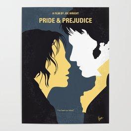 No584 My Pride and Prejudice minimal movie poster Poster