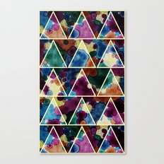 Bohemian Triangles Canvas Print
