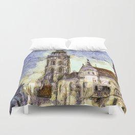 The Church Vincent Van Gogh Duvet Cover