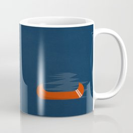 Camping Series: canoe Coffee Mug