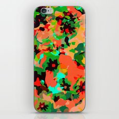 ALL FOR FLOWERS- GREEN iPhone & iPod Skin