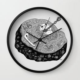 ONCE upon a CELL Wall Clock