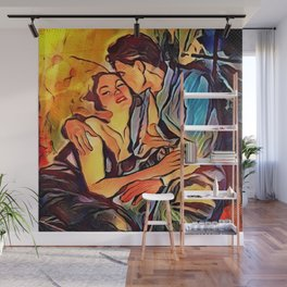 Holding On Wall Mural