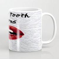 lorde Mugs featuring White Teeth Teens // Lorde  by Fan Merch