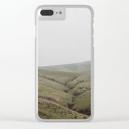 Pastures of CA Clear iPhone Case