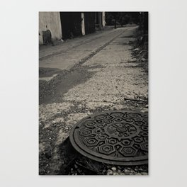 long walk home Canvas Print