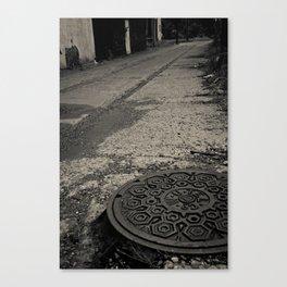 long walk home Canvas Print