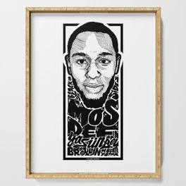 Mos Def aka Yasiin Bey / Rapper's Delight Serving Tray