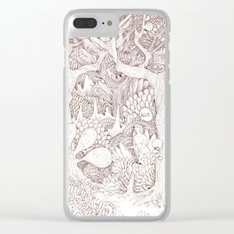 Encountering Eve Clear iPhone Case