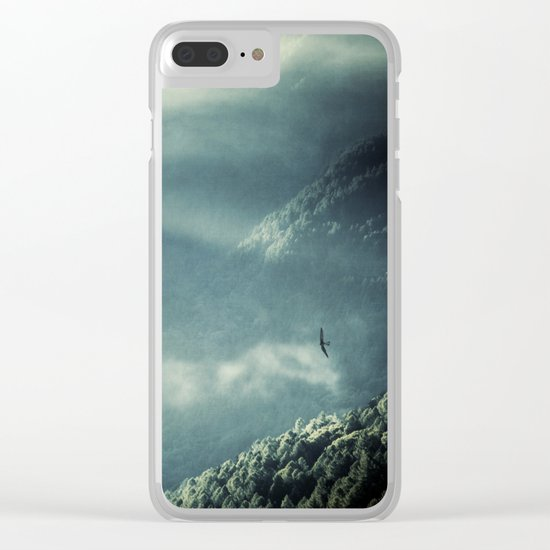 Misty Valley - Lombardia - Italy Clear iPhone Case
