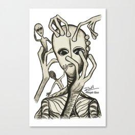 Alien Prod - Mazuir Ross Canvas Print