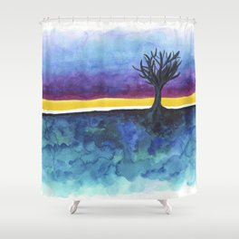 In Limbo - Fandango Shower Curtain