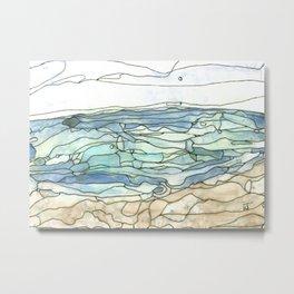 Ocean 30 Metal Print