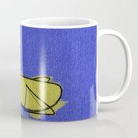 duck Mugs featuring duck by K_REY_C