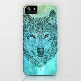 Greenwolf iPhone Case