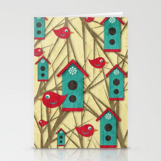 Shabby Sweet Tweet Stationery Cards