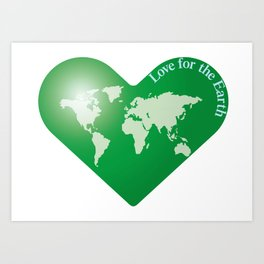 Love for the Earth_G Art Print