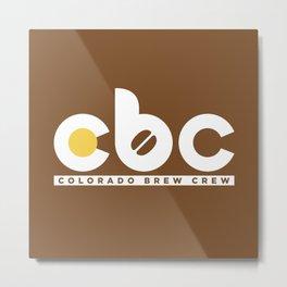 Colorado Brew Crew - CBC Metal Print